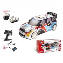 Voiture R/C collection MINI COUNTRYMAN JCW WRC 1:10 IDEE CADEAU ANNIVERSAIRE NOEL NEUVE