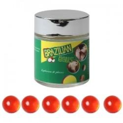 LOT DE 6 Boules Bresiliennes aromatisées Fruits des bois ADULTE RELAXATION PLAISIR SEXE IDEE CADEAU ST VALENTIN NOEL NEUF
