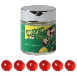 LOT DE 6 Boules Bresiliennes aromatisées Fraise ADULTE RELAXATION PLAISIR SEXE IDEE CADEAU ST VALENTIN NOEL NEUF