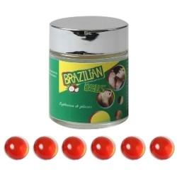 LOT DE 6 Boules Bresiliennes aromatisées Cerise ADULTE RELAXATION PLAISIR SEXE IDEE CADEAU ST VALENTIN NOEL NEUF