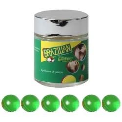 LOT DE 6 Boules Bresiliennes aromatisées Menthe ADULTE RELAXATION PLAISIR SEXE IDEE CADEAU ST VALENTIN NOEL NEUF