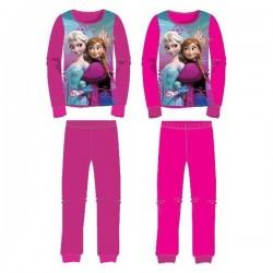 Ensemble pyjama polaire La Reine des neiges Frozen fille du 3 au 8 ans VETEMENT LICENCE OFFICIELLE DISNEY NEUF