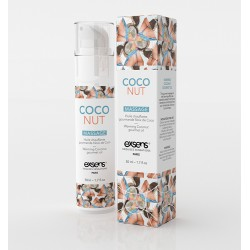HUILE MASSAGE HOT GOURMAND COCONUT 50ML ADULTE RELAXATION PLAISIR SEXE IDEE CADEAU ST VALENTIN NOEL NEUF
