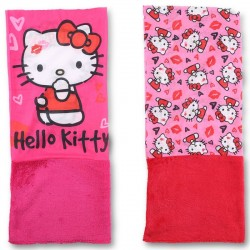Lot de 2 Caches Cou Hello kitty MODE ENFANT HIVER LICENCE OFFICIELLE NEUF