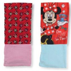Lot de 2 Caches Cou Minnie Disney 02 MODE ENFANT HIVER LICENCE OFFICIELLE NEUF
