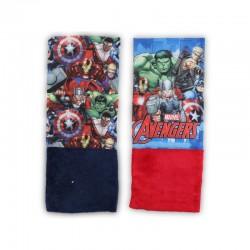 Lot de 2 Caches Cou Avengers Marvel MODE ENFANT HIVER LICENCE OFFICIELLE NEUF