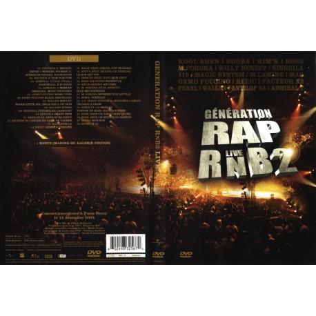 DVD zone 2 GENERATION RAP LIVE RNB 2