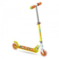 Trottinette 2 roues pliable métal MINIONS idée cadeau anniversaire noel jeux plein air neuf