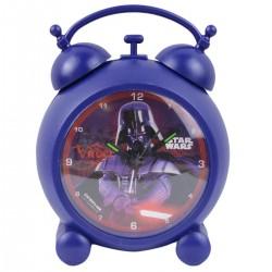 Réveil métal Star Wars licence officielle Disney garcon chambre idée cadeau anniversaire noel neuf