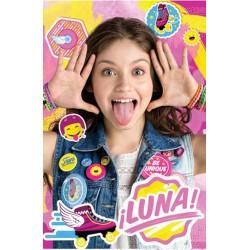 Plaid couverture polaire Soy Luna v2 Disney idée cadeau anniversaire neuf