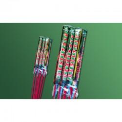 Feux d'artifices nouvel an noël anniversaire fusée sifflet couleur x 12 neuf
