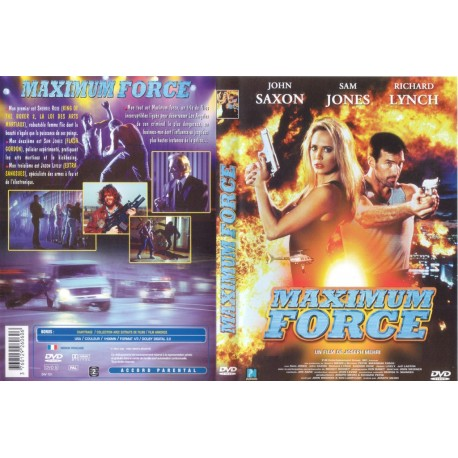 DVD zone 2 Maximum Force Mehri, Joseph