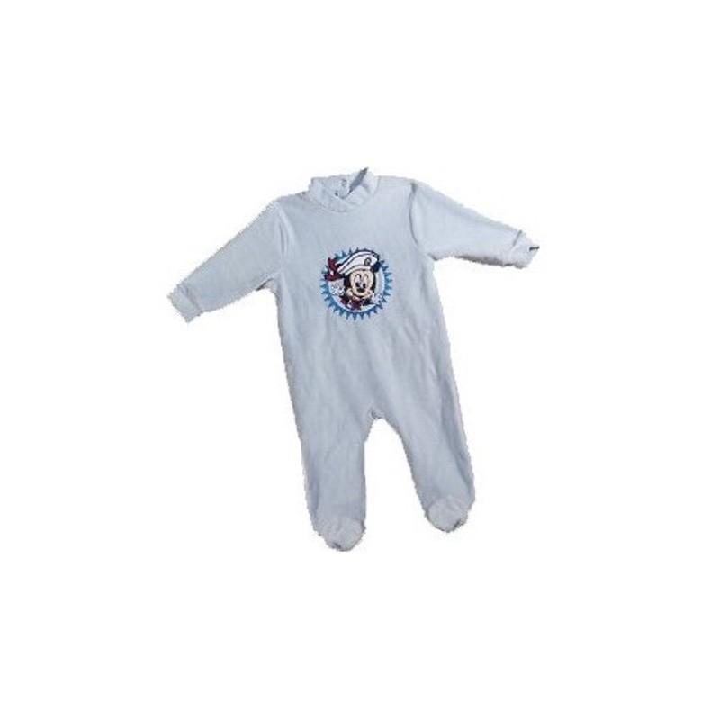 7a2f90755ff8f Pyjama Dors Bien en velours pour bébé Mickey Disney 3 AU 24 MOIS BLEU  MARINE ENFANT. Loading zoom