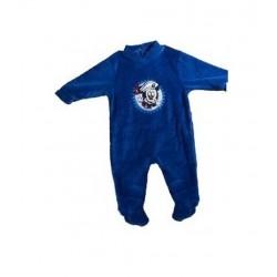 Pyjama Dors Bien en velours pour bébé Mickey Disney 3 AU 24 MOIS BLEU MARINE ENFANT GARCON VETEMENT NEUF