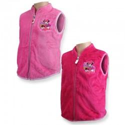 Gilet veste coral polaire sans manches Minnie licence officielle Disney Fille du 3 au 8 ans NEUF