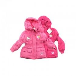 Parka manteau hiver neige Hello Kitty du 2 au 6 ans rose fille ENFANT VETEMENT NEUF