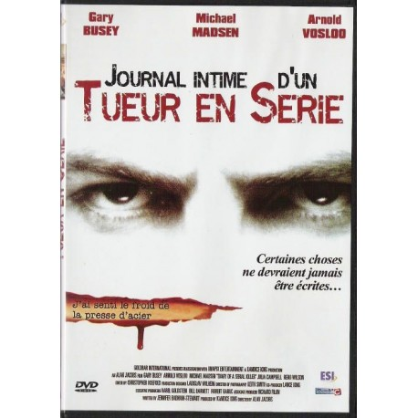 DVD zone 2 Journal Intime D'un Tueur En Série - Joshua Wallace