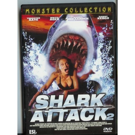 DVD zone 2 Shark Attack 2 David Worth