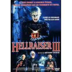 DVD zone 2 Hellraiser III Classification : Horreur Anthony Hickox collection occasion