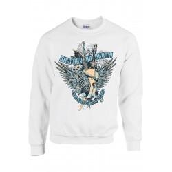 SWEATSHIRT GILDAN UNISEXE - VICTORY vêtement pull Taille S à XXL neuf