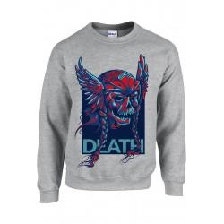 SWEATSHIRT GILDAN UNISEXE - DEATH vêtement pull Taille S à XXL neuf