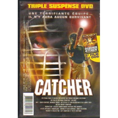 DVD zone 2 GUEPES ATTACK / CATCHER Paul Andresen / Guy Crawford