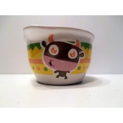 Bol pour enfants en céramique avec animaux