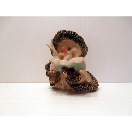 Idée décoration de Noël : Petit bonhomme de neige avec sa cape