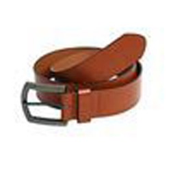 Norwalk - Ceinture en cuir PU renforcée CARAMEL vêtement Taille S/M - L/XL neuf