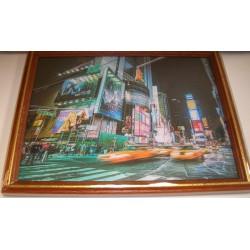 Cadre sous verre décoration New York City idée cadeau original anniversaire emballé neuf