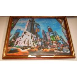 Cadre sous verre décoration New York City 02 idée cadeau original anniversaire emballé neuf