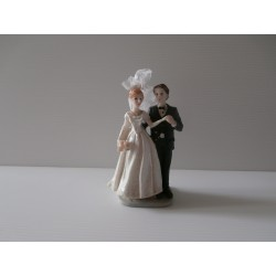 Figurine de jeunes mariés - Neuf - Version 2
