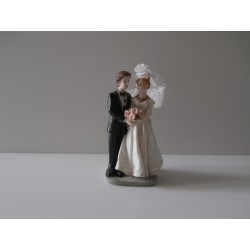 Figurine de jeunes mariés - Neuf - Version 3 décoration mariage salle gateau