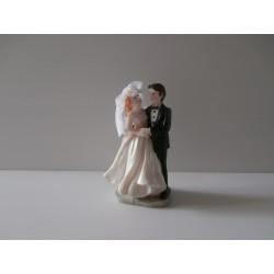Figurine de jeunes mariés - Neuf - Version 4 décoration mariage salle gateau