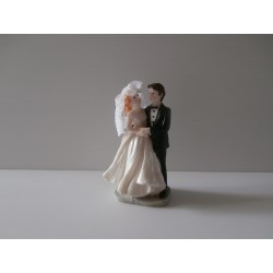 Figurine de jeunes mariés - Neuf - Version 4