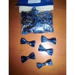 Nœud papillon bleu marine neuf x 24 pièces déco fêtes mariage baptêmes anniversaire neuf