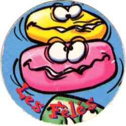 Caps pog haribo publicitaire bonbons 14 les félés collection occasion