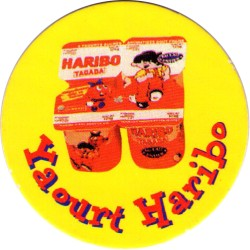 Caps pog haribo publicitaire bonbons 24 yaourt haribo collection occasion