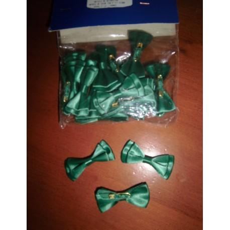 Nœud papillon vert foncé neuf x 24 pièces déco fêtes mariage baptêmes anniversaire neuf