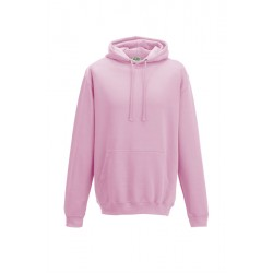 Sweat-shirt à capuche Collège - AWDIS MIXTE rose DU S A XXL FEMME ADOS vêtement neuf
