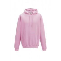 Sweat shirt à capuche Collège marque AWDIS rose DU S A XXL vêtement MIXTE neuf
