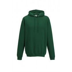 Sweat-shirt à capuche Collège - AWDIS MIXTE vert foncé DU S A XXL FEMME ADOS vêtement neuf