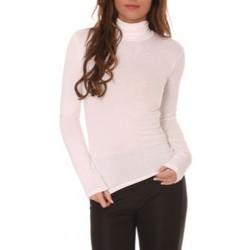 T shirt Sous pull col roulé pour femme rose clair vêtement femme anniversaire cadeau neuf