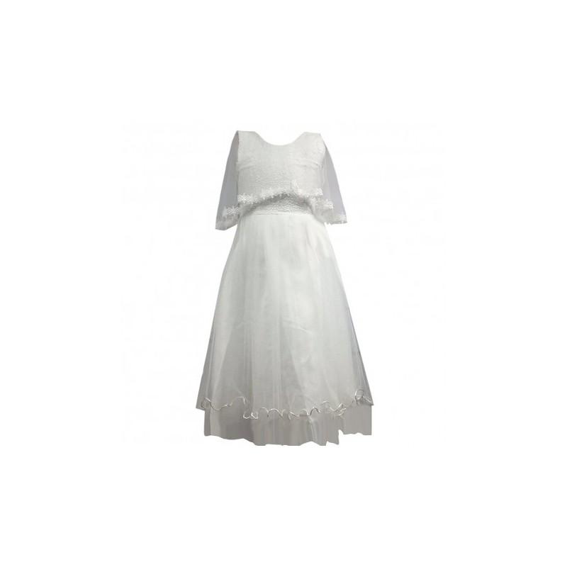 le dernier obtenir de nouveaux Promotion de ventes Robe de cérémonie fille blanche du 4 au 14 ans vêtement bapteme mariage  enfant communion neuve - Amzalan.com