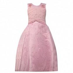 Robe de cérémonie pour enfant ROSE du 4 au 14 ans vêtement bapteme mariage communion enfant neuve