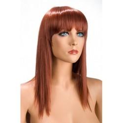 Perruque Allison Effilé Rousse douceur au toucher semblable au cheveux véritable coffret looks glamour, coquin neuve