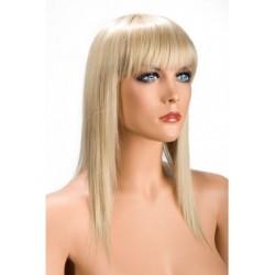 Perruque Allison Effilé Blonde douceur au toucher semblable au cheveux véritable coffret looks glamour, coquin neuve