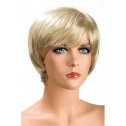 Perruque Sofia Courte Blonde douceur au toucher semblable au cheveux véritable coffret looks glamour, coquin neuve