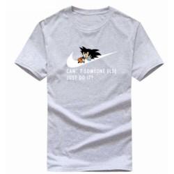 T shirt garçon gris manche courte - Dragon Ball Z JUST DO IT du 3/4 au 9/11 ans enfant cadeau neuf