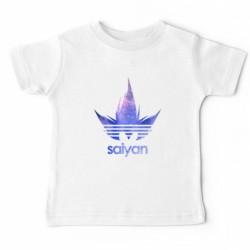 T shirt garçon blanc manche courte - Dragon Ball Z DBZ Hair Galaxy du 5/6 au 12/13 ans enfant cadeau neuf
